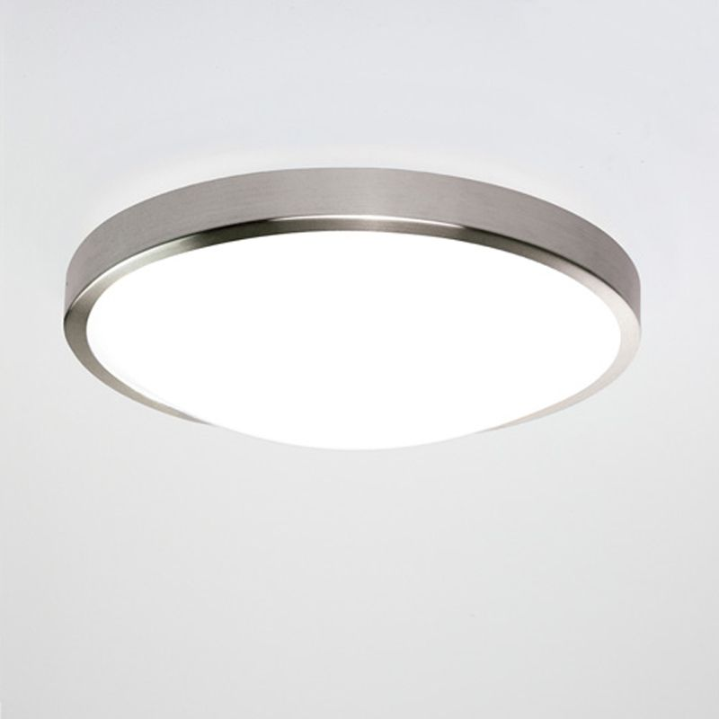 u0027Osaka 350u0027 LED IP44 Bathroom Ceiling Light. Matt Nickel - 7414 & Osaka 350u0027 LED IP44 Bathroom Ceiling Light. Matt Nickel - 7414 ... azcodes.com