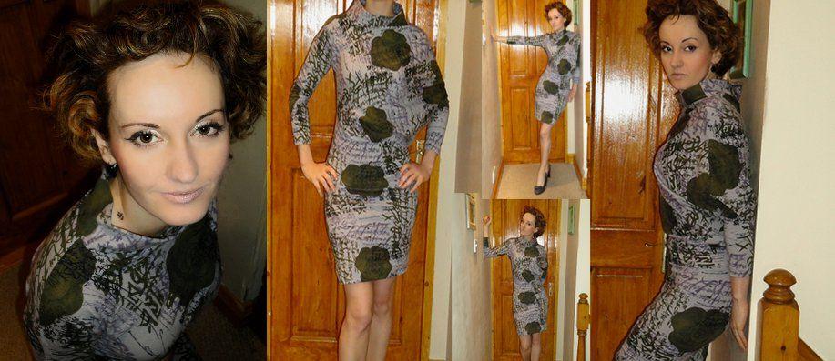 """Sewing And Style Den: """"I think I'm turning Japanese"""" dress"""