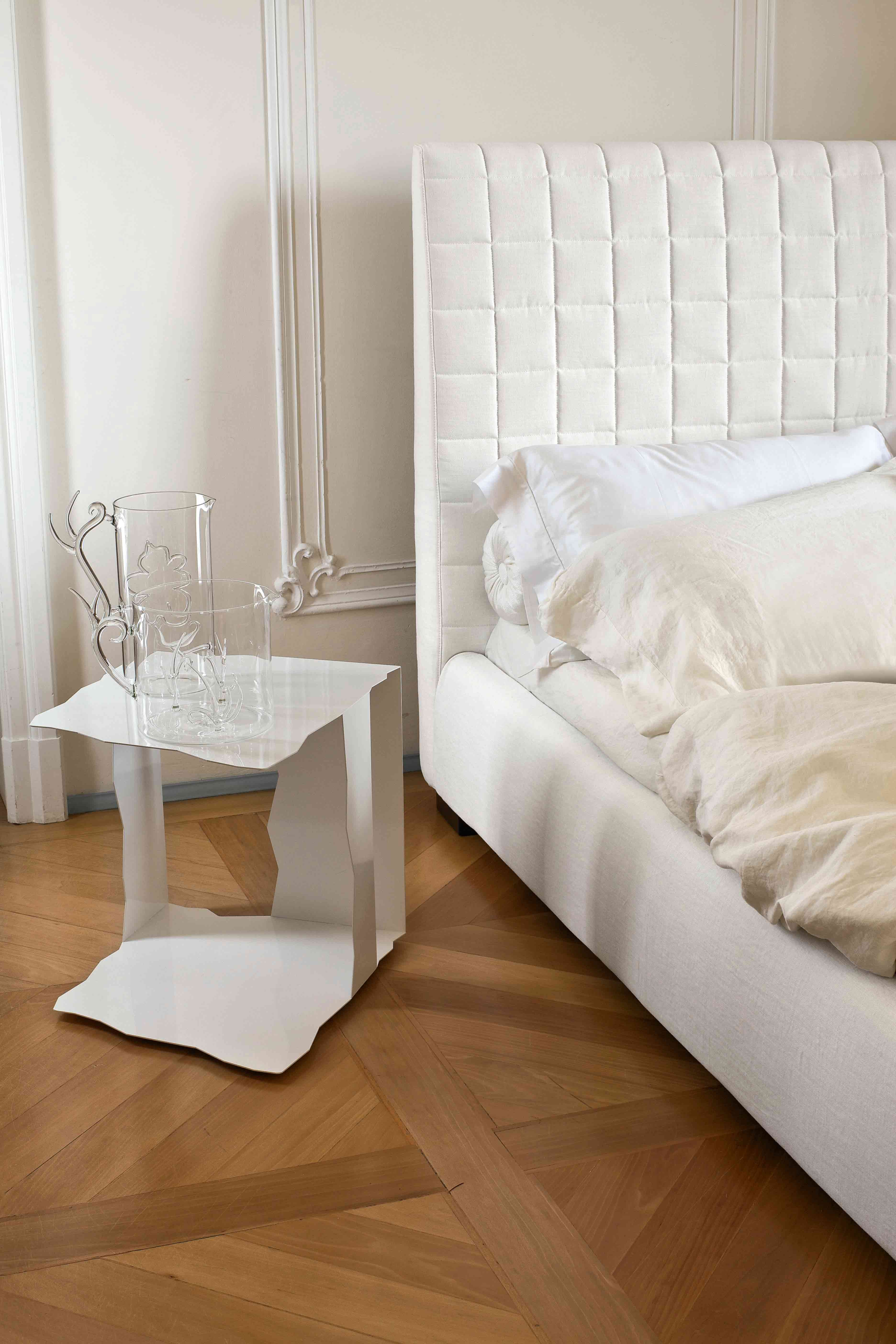 bloom ego bed #white by bonaldo www.bonaldo.it | interior design ... - Letto Imbottito Grigio Bloom Bonaldo