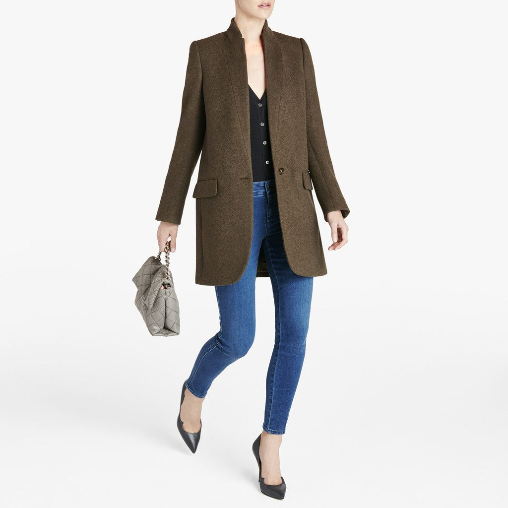 Minimal Fashion Oversized Blazer: With A Fit That's Reminiscent Of An Oversized Blazer, This