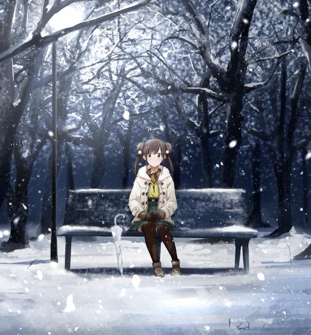No Title Idolmaster Moescape Cute Anime Character Idolmaster Fine Art