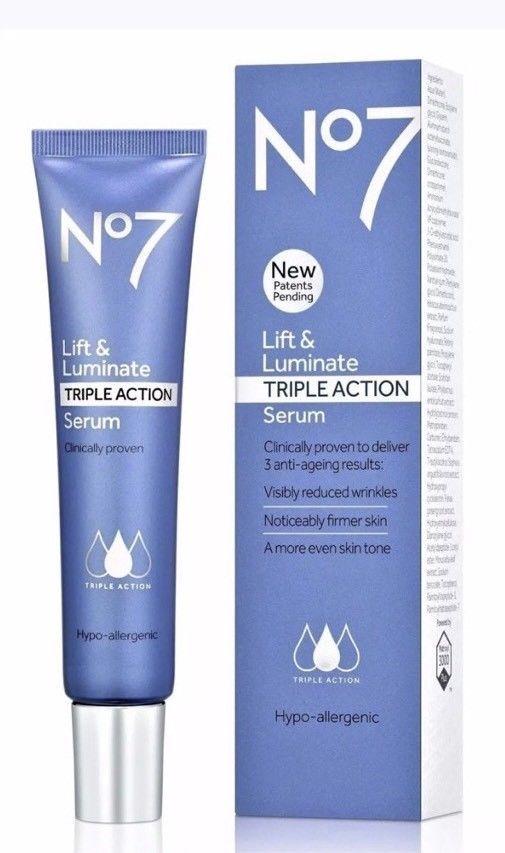 No 7 anti aging serum