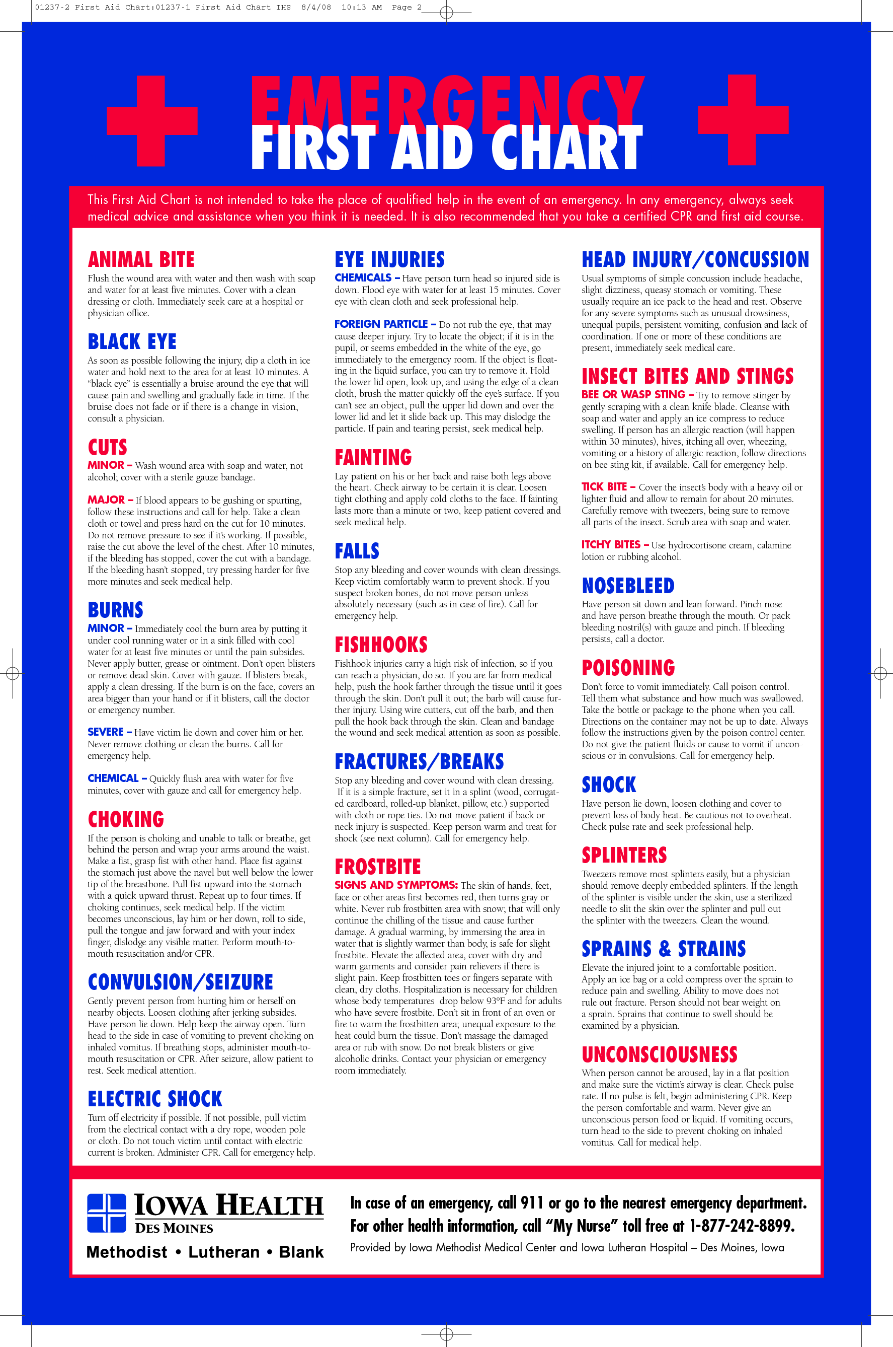 It is a graphic of Soft First Aid Guide Printable