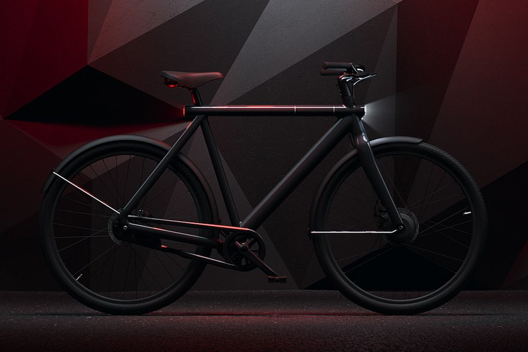 Vanmoof S Futuristic 20mph Electrified S2 Led Bike Has On Demand
