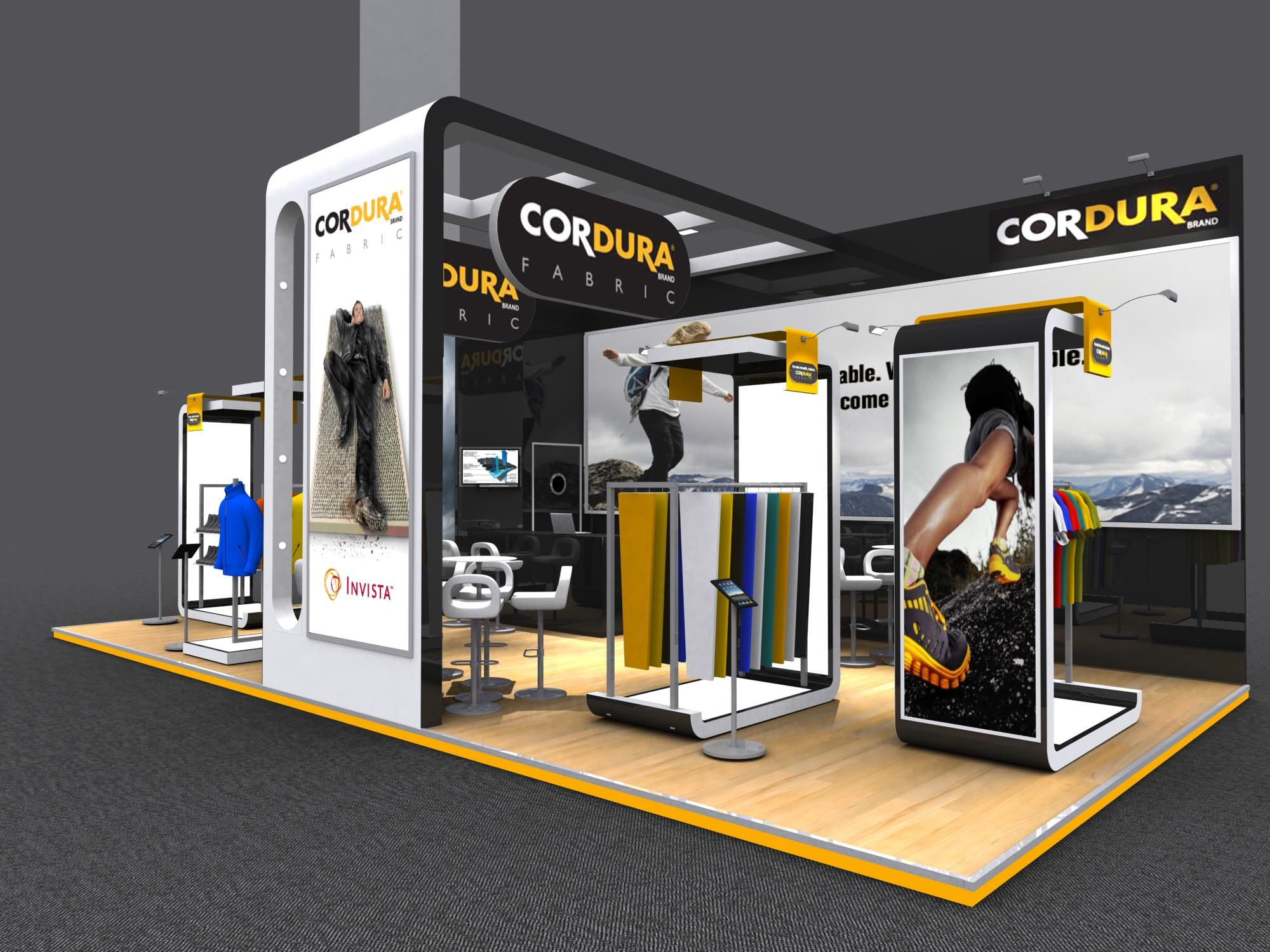 Bodypower Expo Stands : Exhibition stand design designs created for crodura