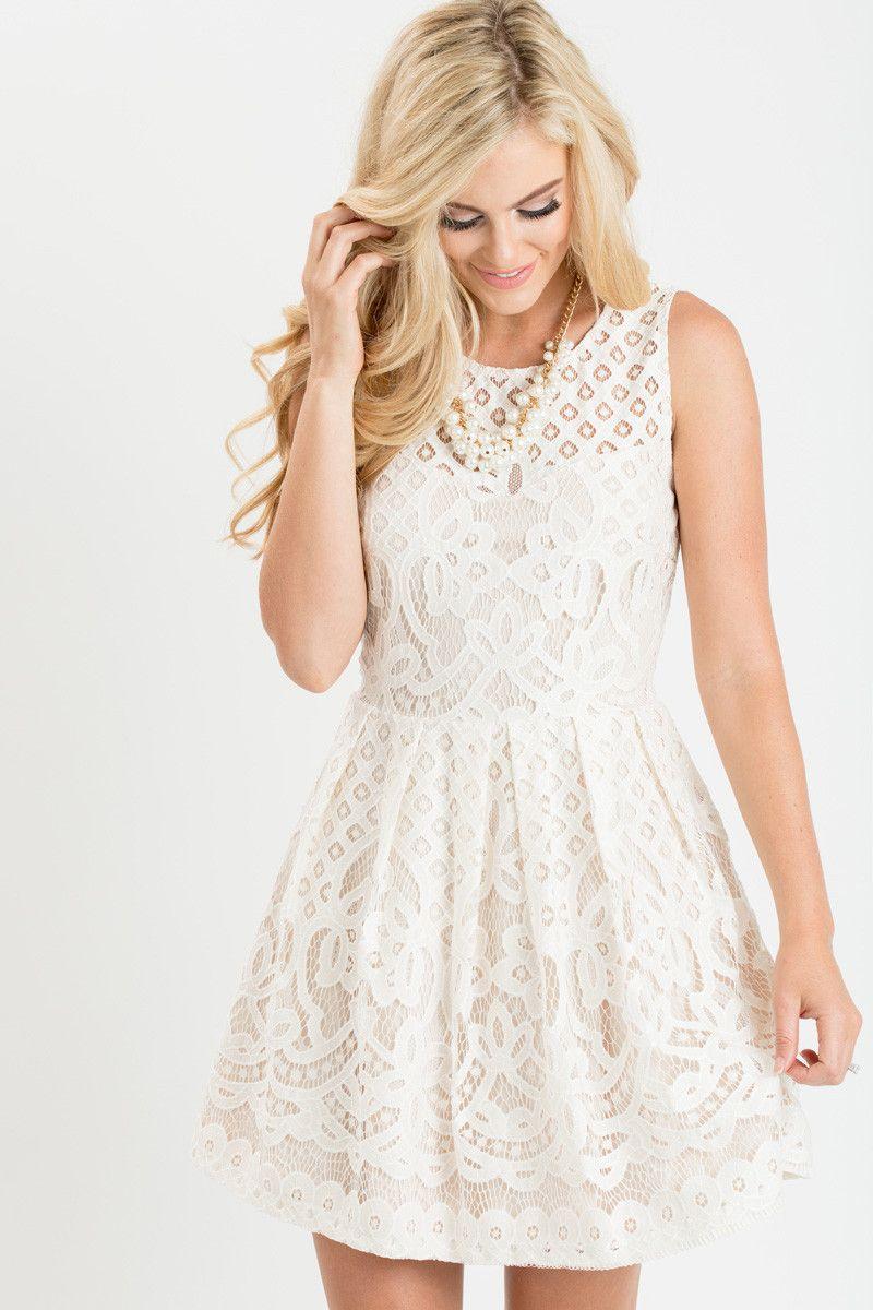 Lace Dresses Womens Boutique Bridal Shower Dresses