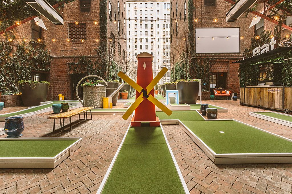 Hudson Hotel Is Opening An Awesome Mini Golf Course On Their