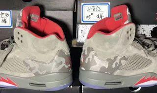 reputable site 5e11a 0ee6d Air Jordan 5 Camo Retro Sneaker (Detailed Look + Release ...