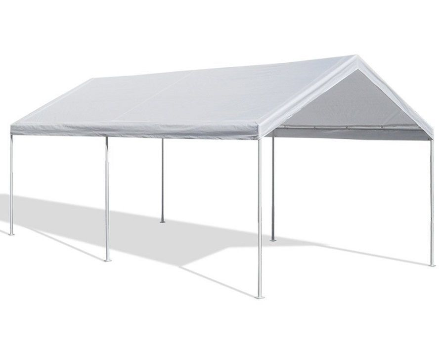 Outdoor Canopy Carport Car Shelter Party Frame 10x20 Portable Garage ...