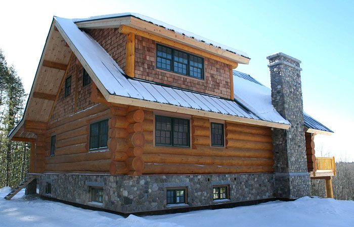 Full-Scribe Log Homes Vermont