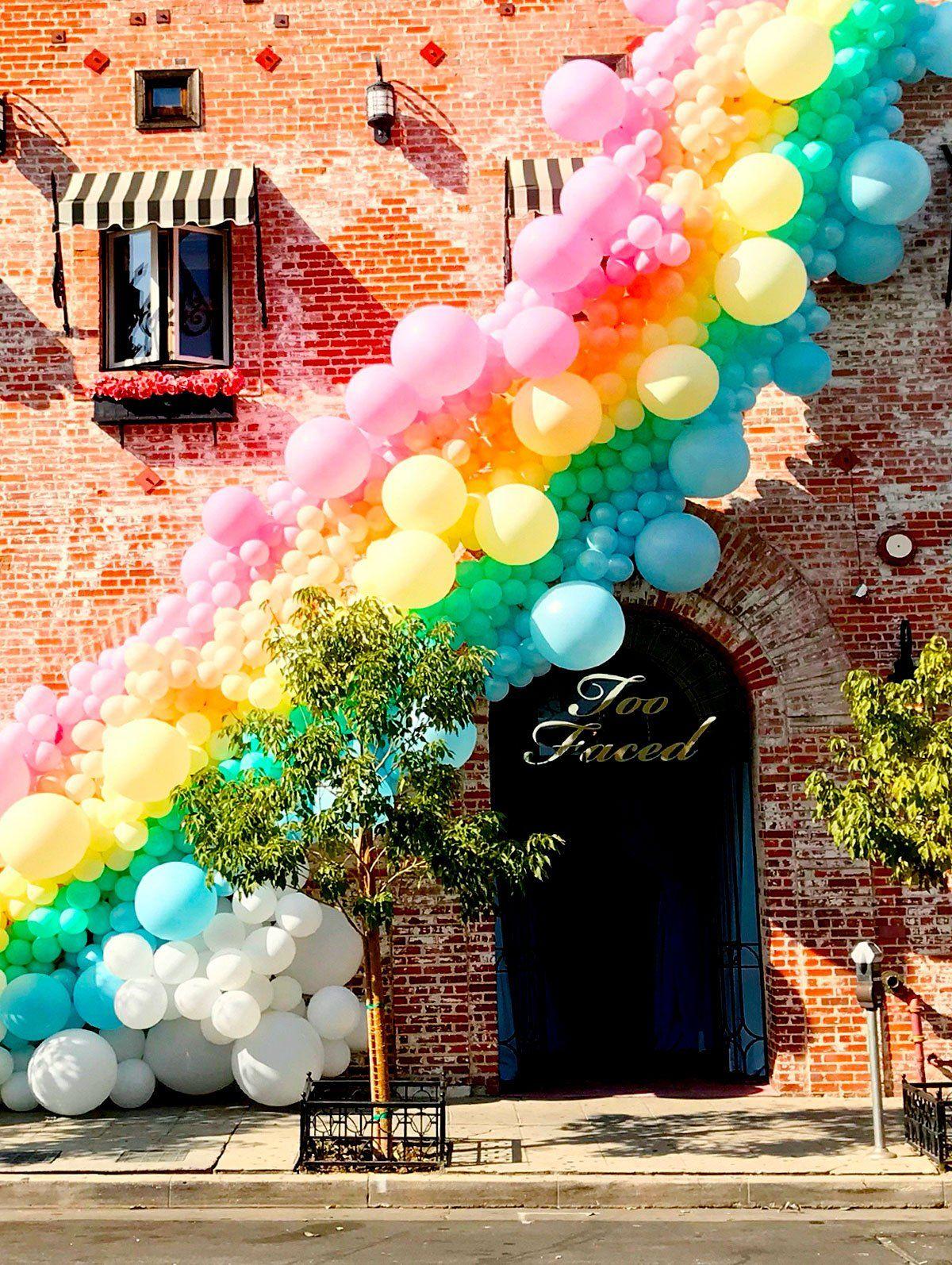 Wild Child Where The Party Starts Rainbow Balloons Balloon