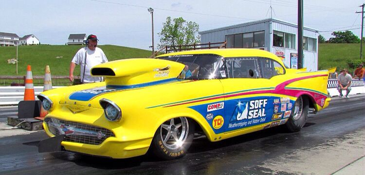 Rob Vandergriff S 1957 World S Fastest 57 Is My All Time Favorite Pro Mod Drag Racing Nhra Drag Racing Chevy