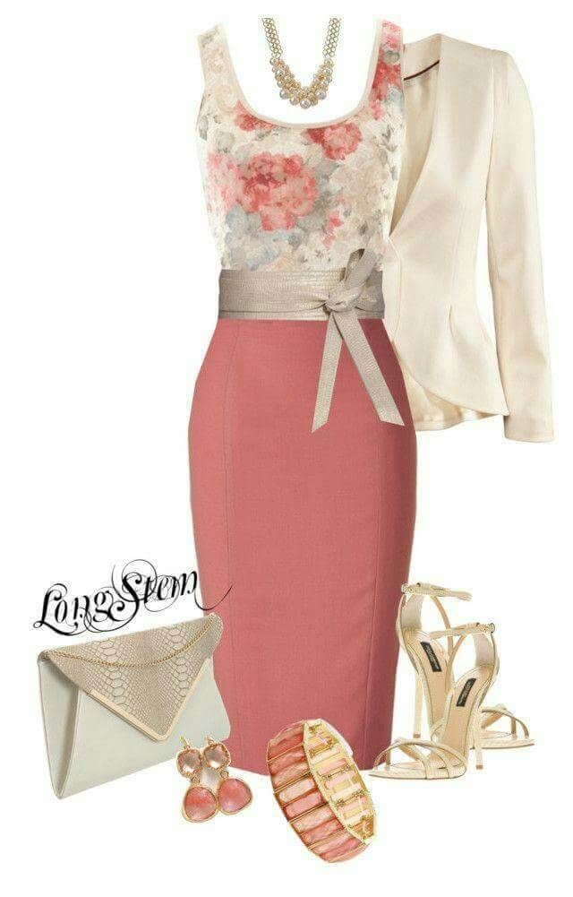 29 Classy And Elegant Summer Outfits #flaredskirt