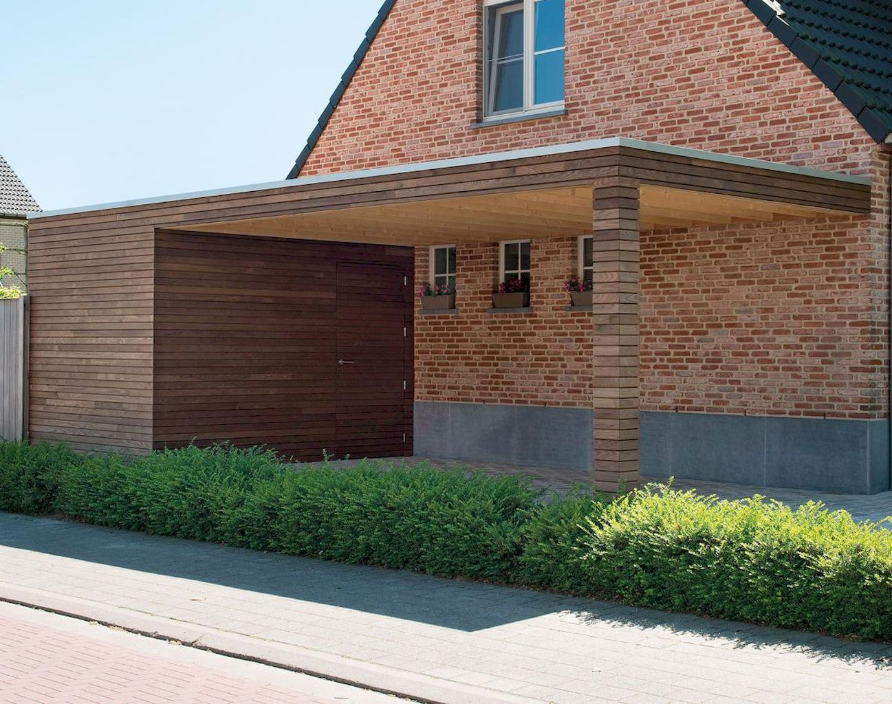 Pin by Christiana Lycan on home garage Modern carport