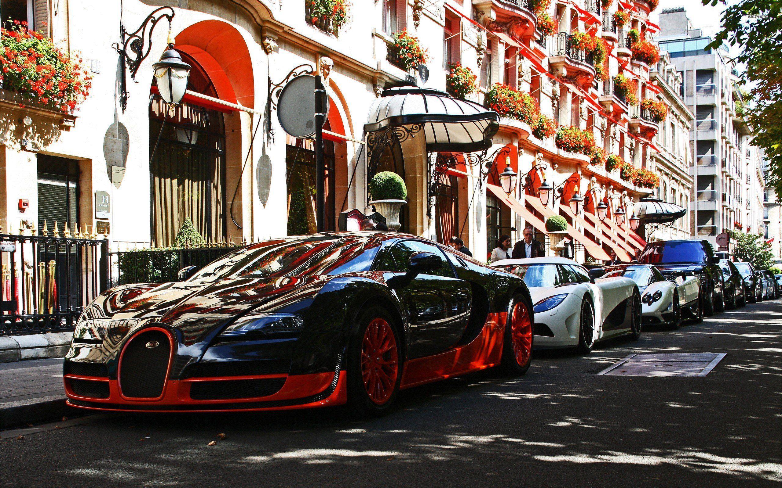Cars Pagani Zonda Bugatti Veyron Koenigsegg Agera R Cinque Wallpaper