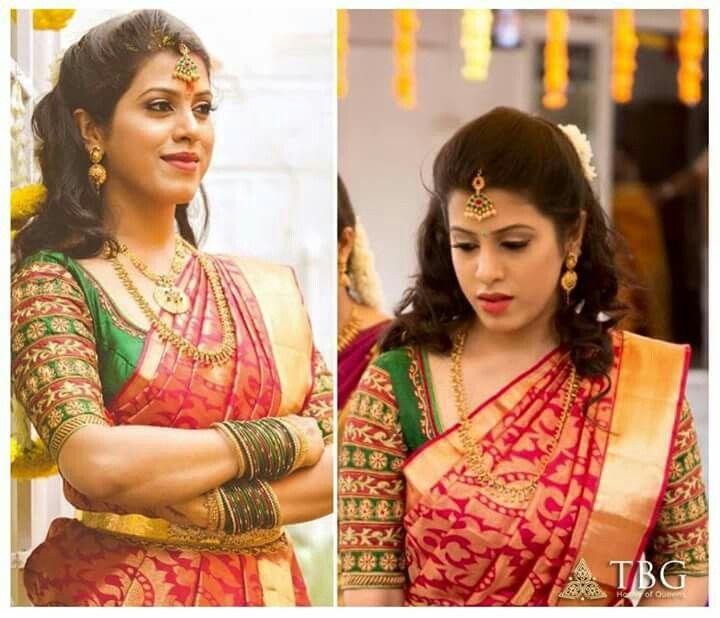 Pin By Radhika Pagadala On Designer Blouses South Indian Wedding