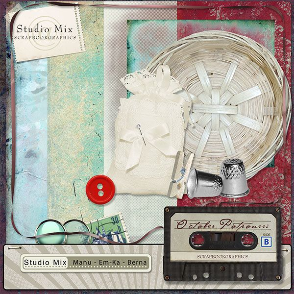 Studio Mix #10: October Potpourri Add-On