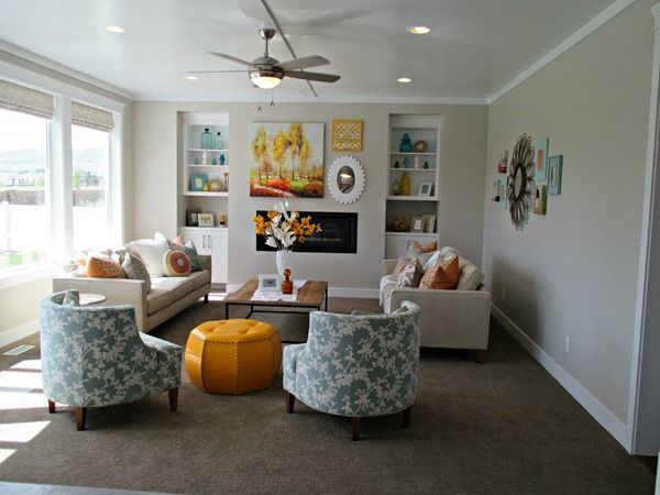 agreeable gray - family room paint color. this site has great