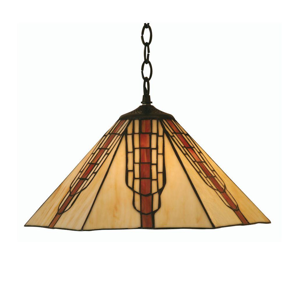 Oaks ot 160016 p viola tiffany pendant viola tiffany and pendants oaks ot p 1 light tiffany pendant lamp not included mozeypictures Images
