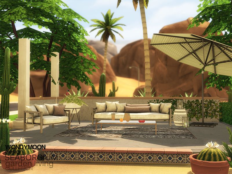 - Seaborgium Garden Living Found in TSR Category 'Sims 4 ... on Cc Outdoor Living id=14020
