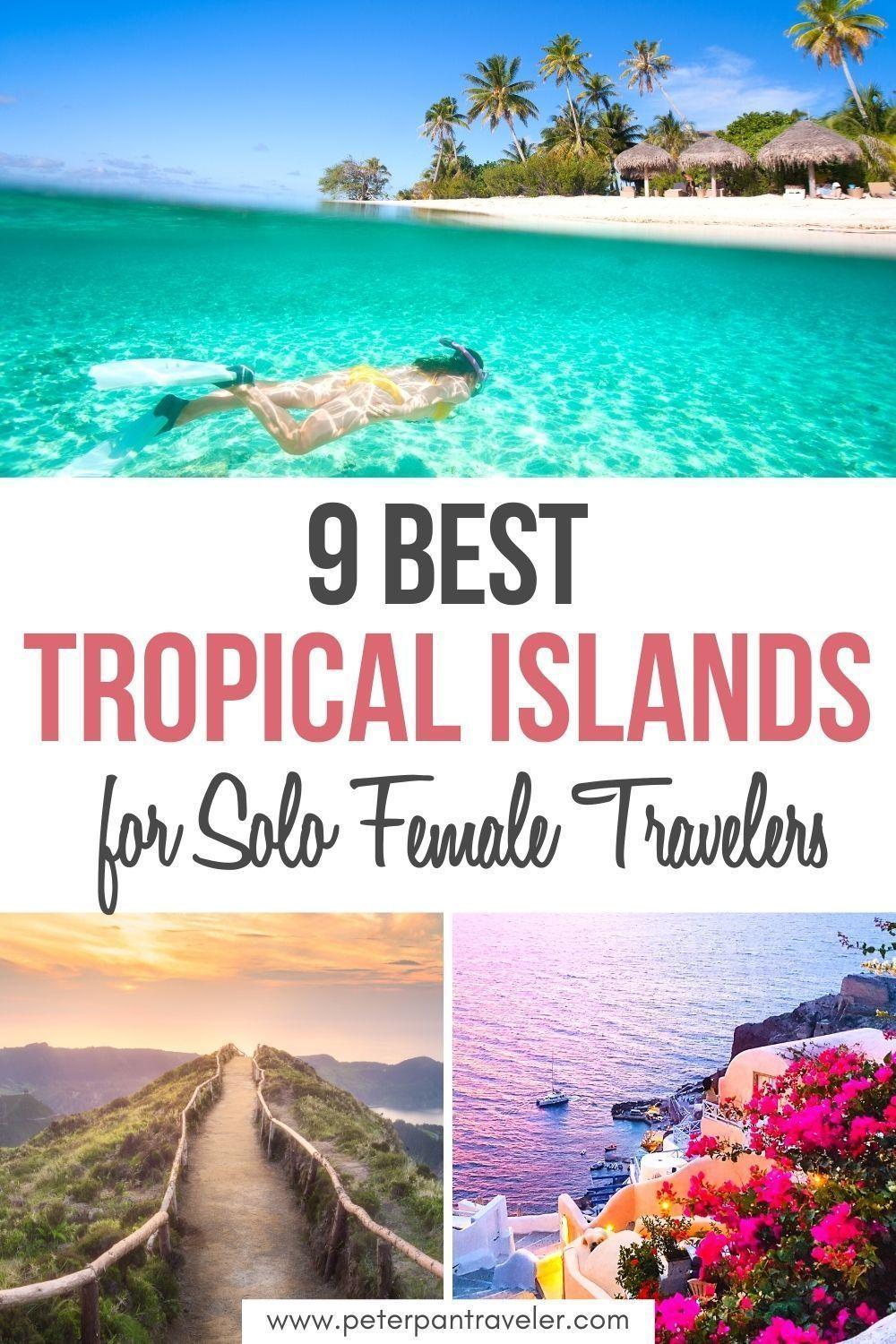 9 Best Tropical Islands For Solo Female Travelers In 2021 Tropical Travel Destinations Best Solo Travel Destinations Travel Inspiration Destinations