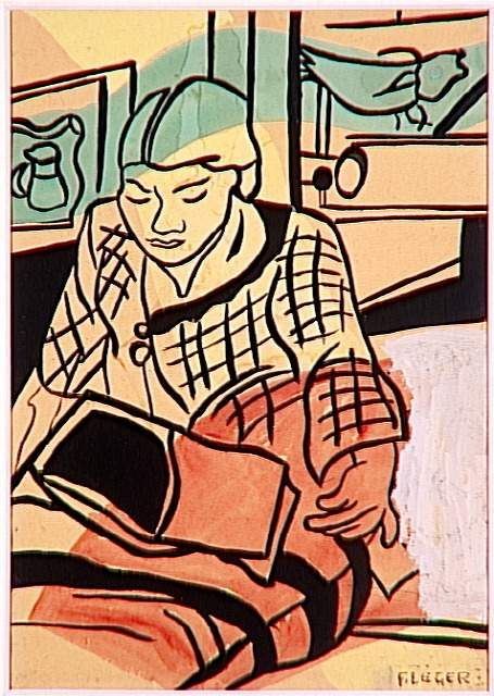Fernand Leger | Reading (1948)