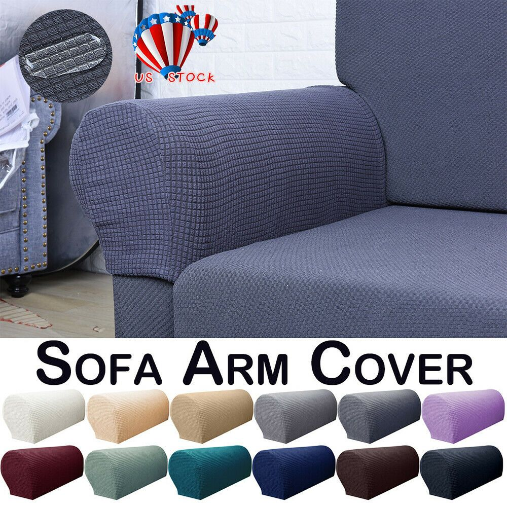 Removable Stretch Arm Chair Protector Sofa Couch Armchair Armrest