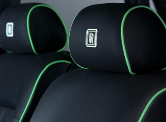 Leather Car Seat Piping Rolls Royce