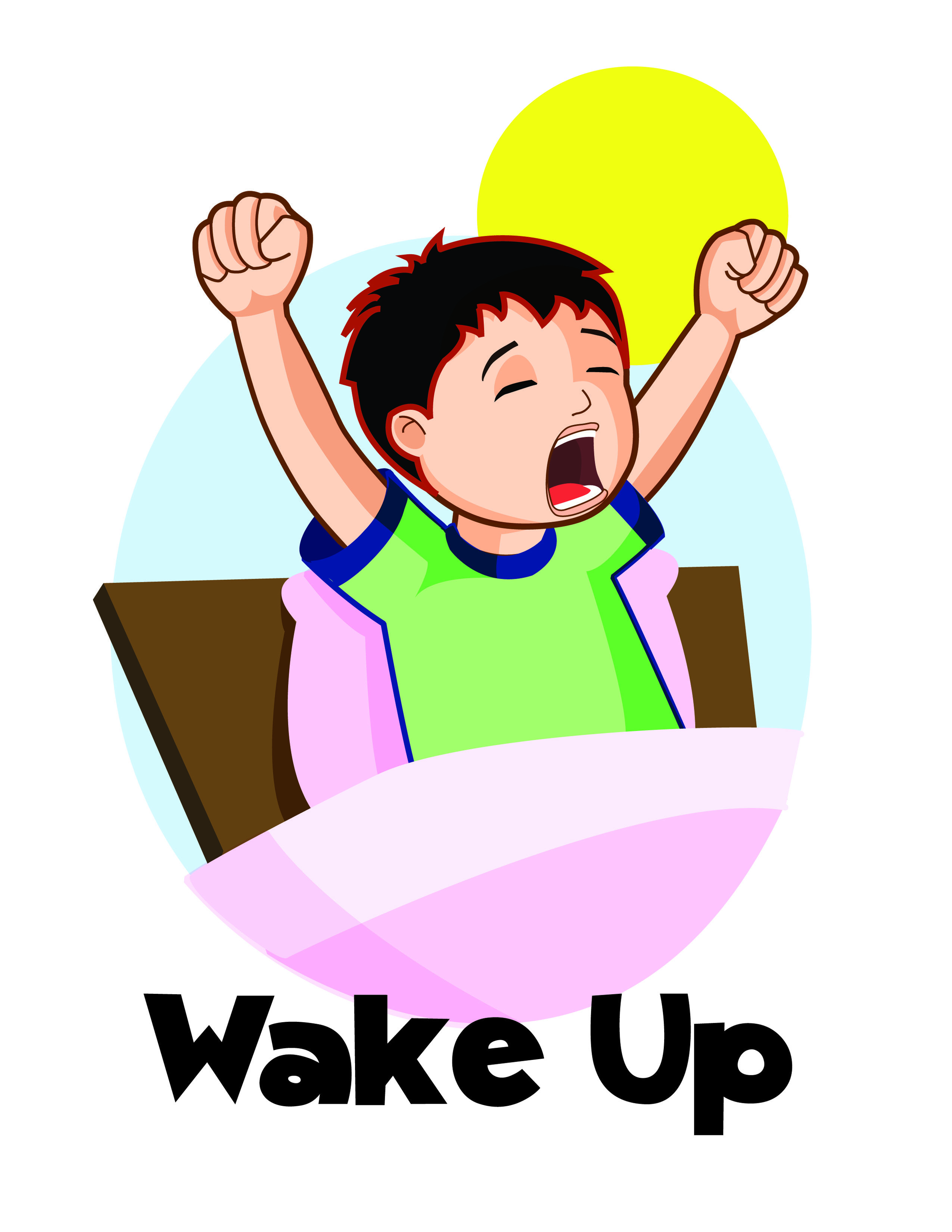 11 wake up clip art free cliparts that you can download to you [ 2550 x 3300 Pixel ]