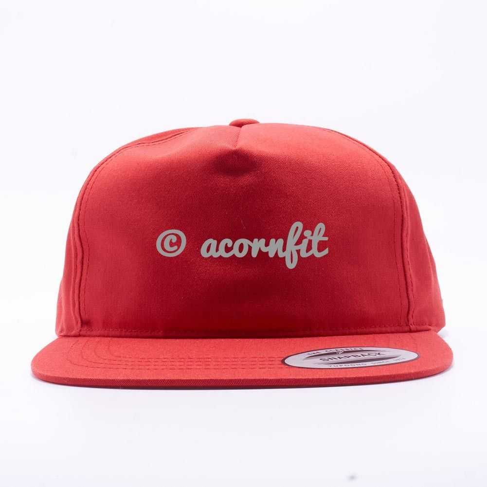ea9a7ed45 Wholesale Yupoong 6502 Unstructured 5 Panel Snapback [Red ...