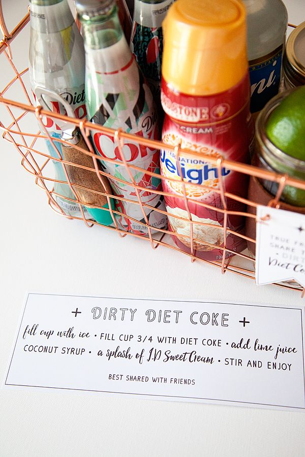 Whipperberry dirty diet coke gift basket with free printable gift whipperberry dirty diet coke gift basket with free printable gift tag negle Gallery