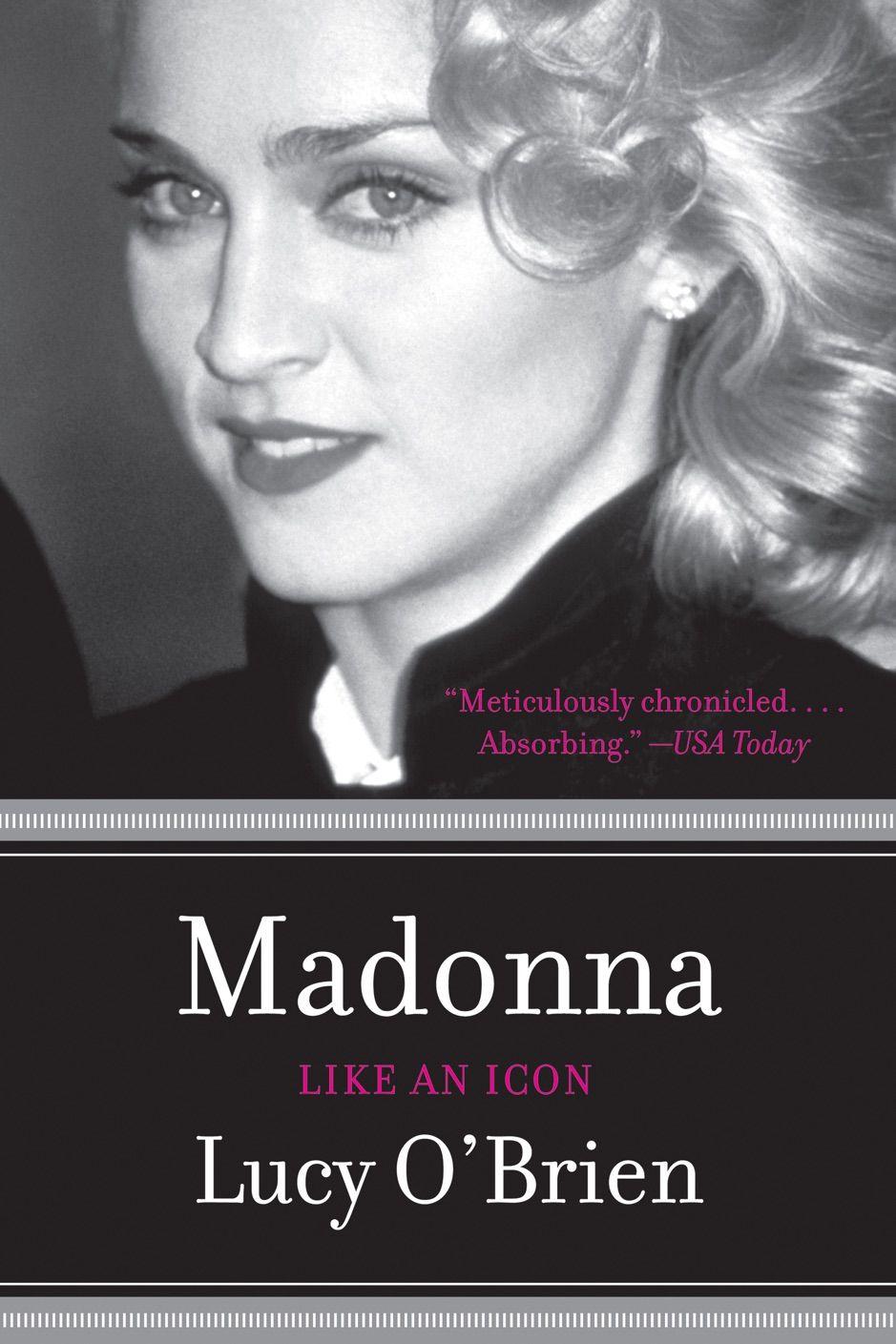鈥嶮adonna Like An Icon Updated Edition Ad Updated Edition Icon Download Ad Madonna Book Madonna Madonna Biography