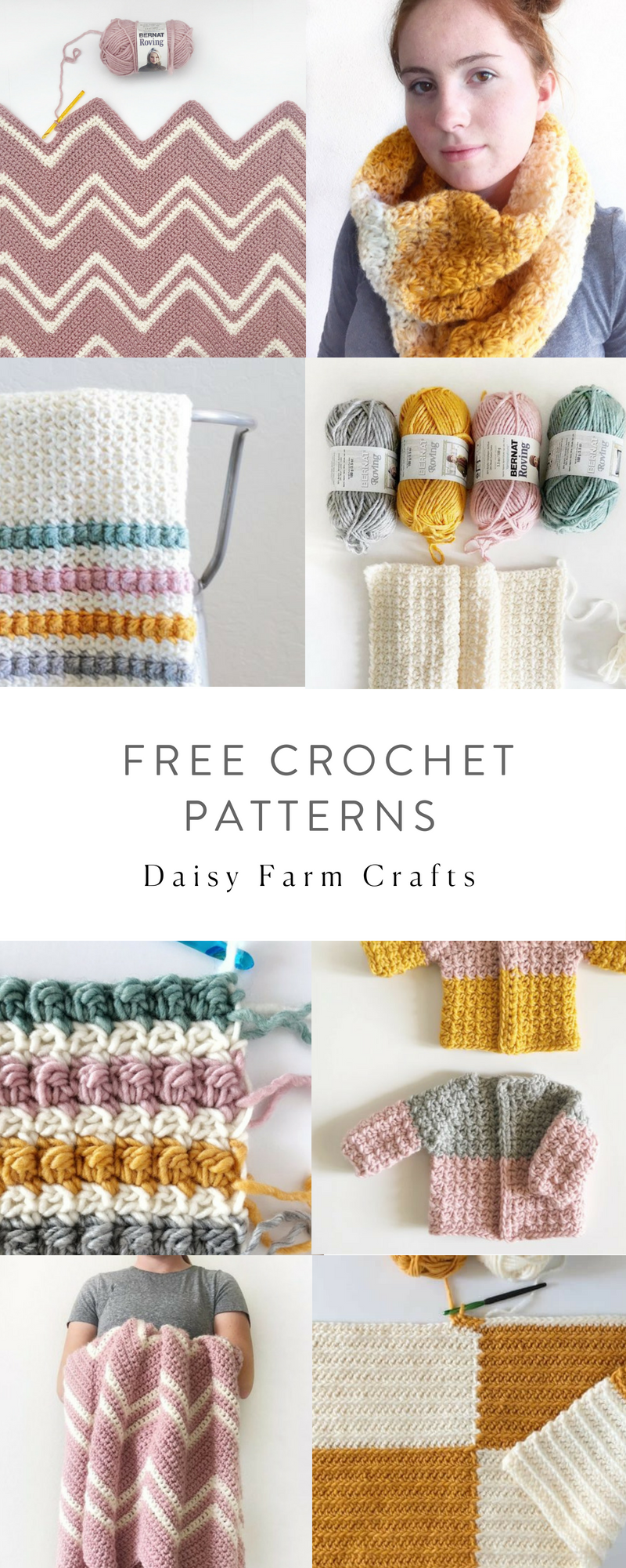 Free Crochet Patterns - Daisy Farm Crafts | Crochet > DaisyFarm ...