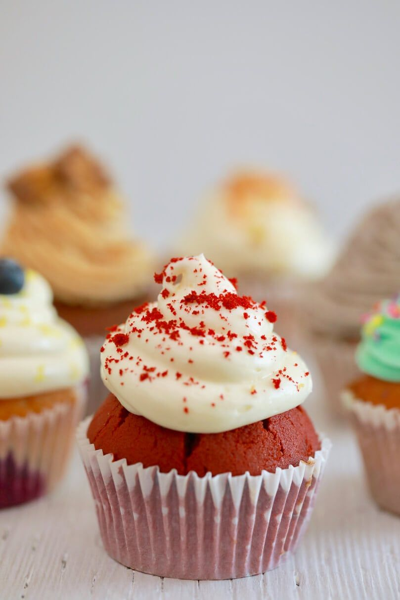 Crazy Cupcakes One Easy Cupcake Recipe With Endless Flavors Recipe Cupcake Recipes Easy Cupcake Recipes Easy Cupcakes