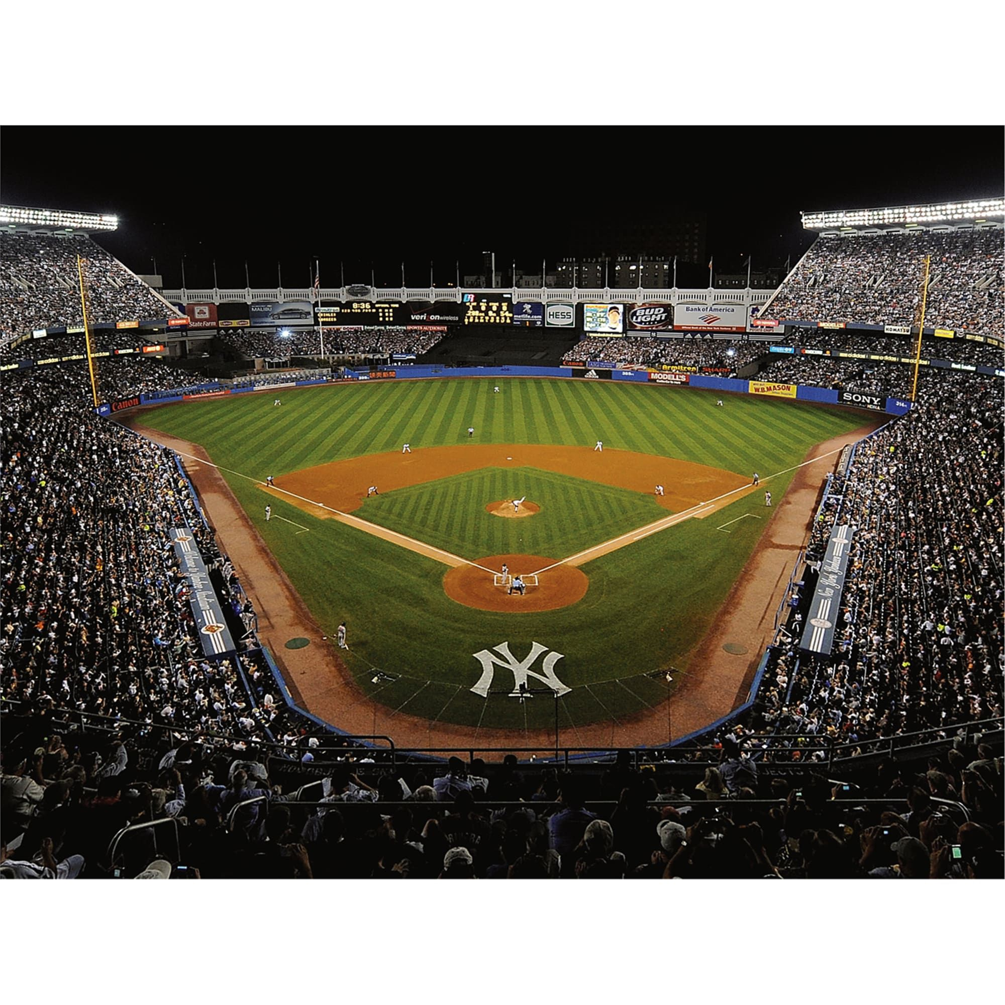 New York Yankees Old Yankee Stadium Behind Home Plate Mural Giant Officially Licensed Mlb Re New York Yankees New York Yankees Game New York Yankees Stadium