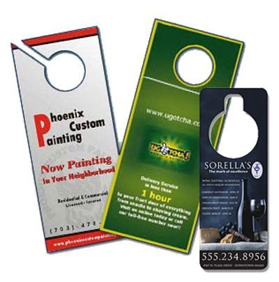 Door Hangers Provide An Eye-Catching, Professional Representation
