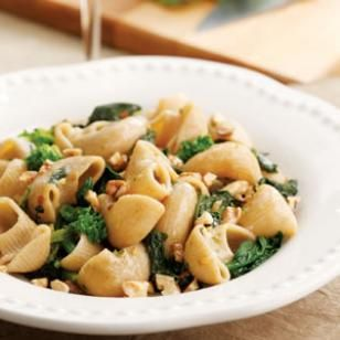 Braised Broccoli Rabe with Orecchiette @eatingwell