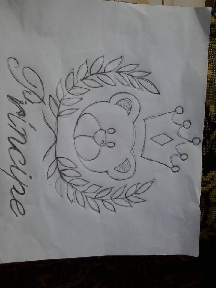 Prince Desenho De Coroas Pinturas Em Tecido Fraldas Desenho De