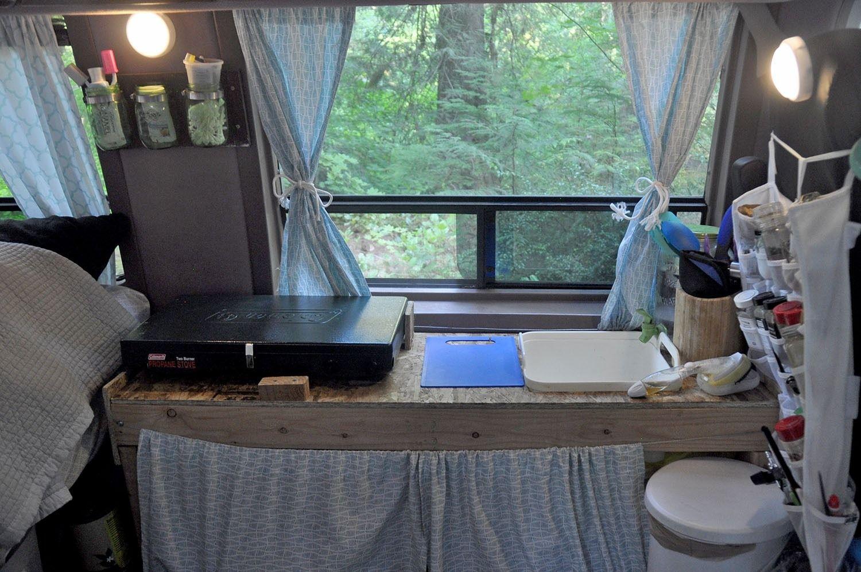 Diy campervan kitchen for less than 50 campervan