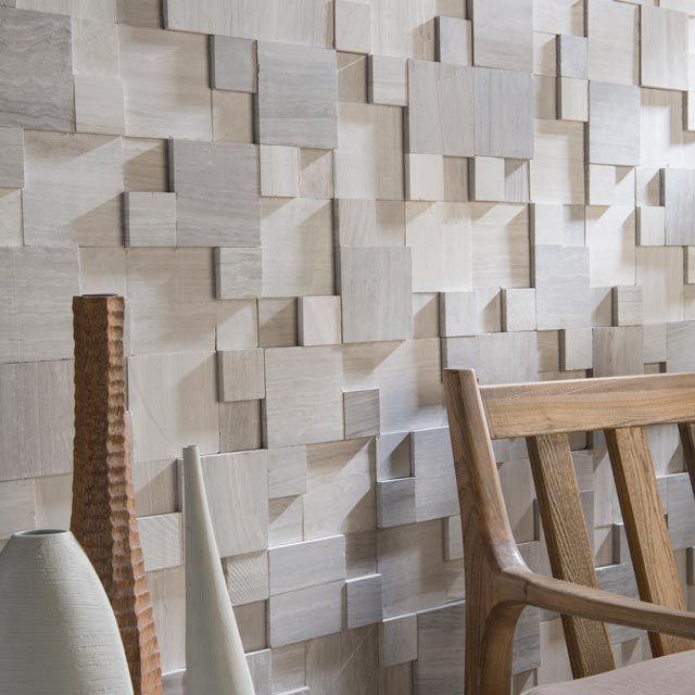 Mosaique Cuma 3d Beige 30 X 30 Cm Carrelage Adhesif Architecte Interieur Idee Deco Salle De Bain