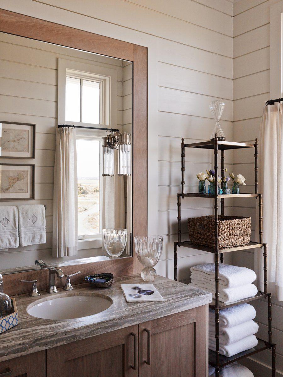 Beach Style Bathroom In Wilmington Nc By Barrie Benson Interior Design