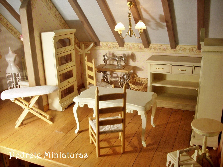 Mobiliario para el taller de costura miniaturas for Mobiliario infantil montevideo