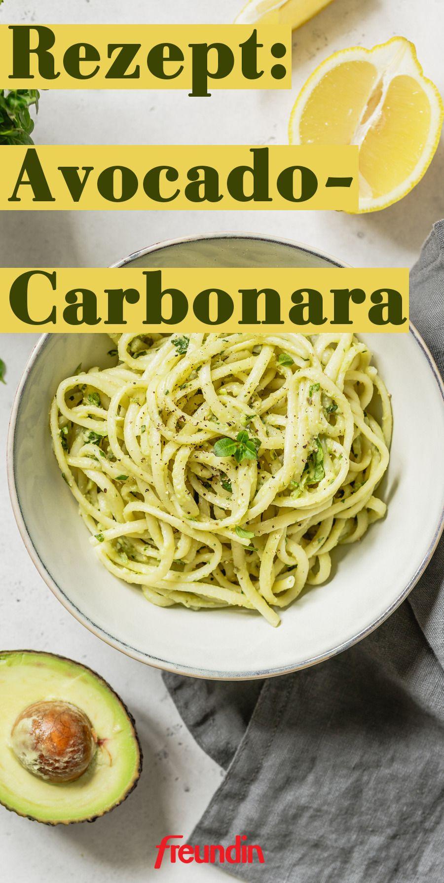 Rezept mal anders: Avocado-Carbonara   freundin.de