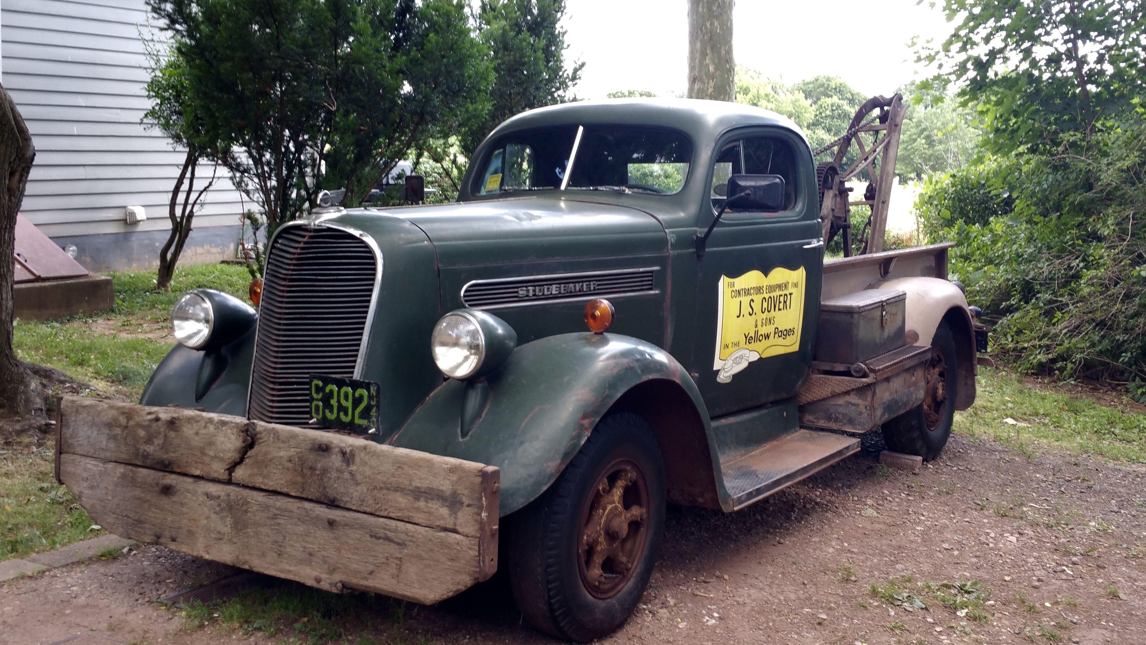 Member Trucks With Images Tow Truck Trucks Studebaker Trucks