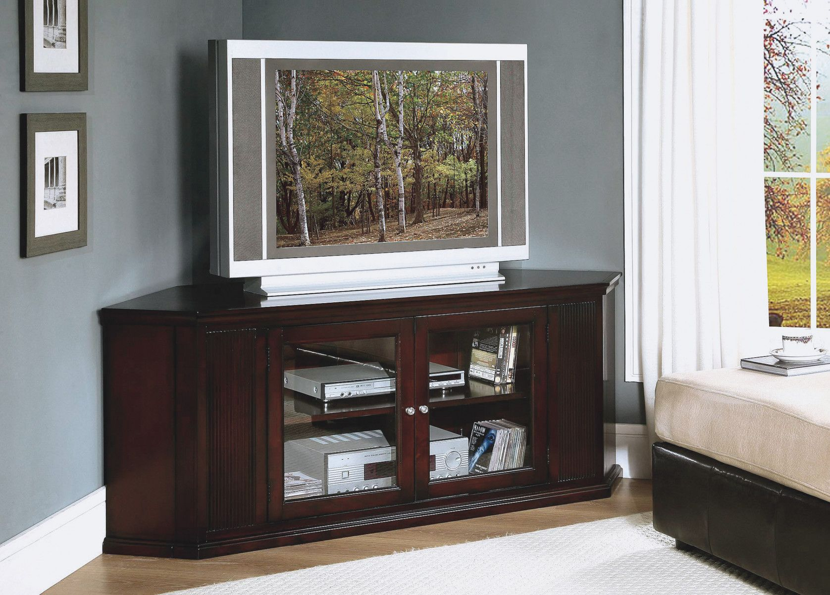 77 Corner Tv Cabinets For Flat Screens With Doors Small Kitchen