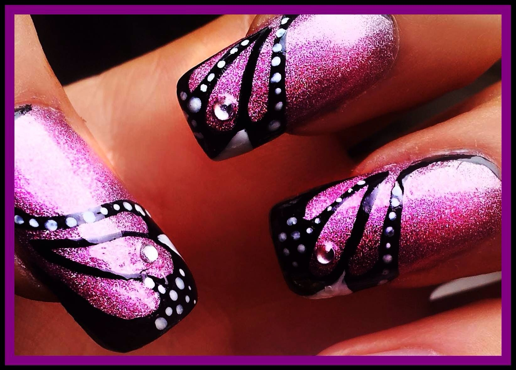 Butterfly wings would look amazing in blues and greens :D