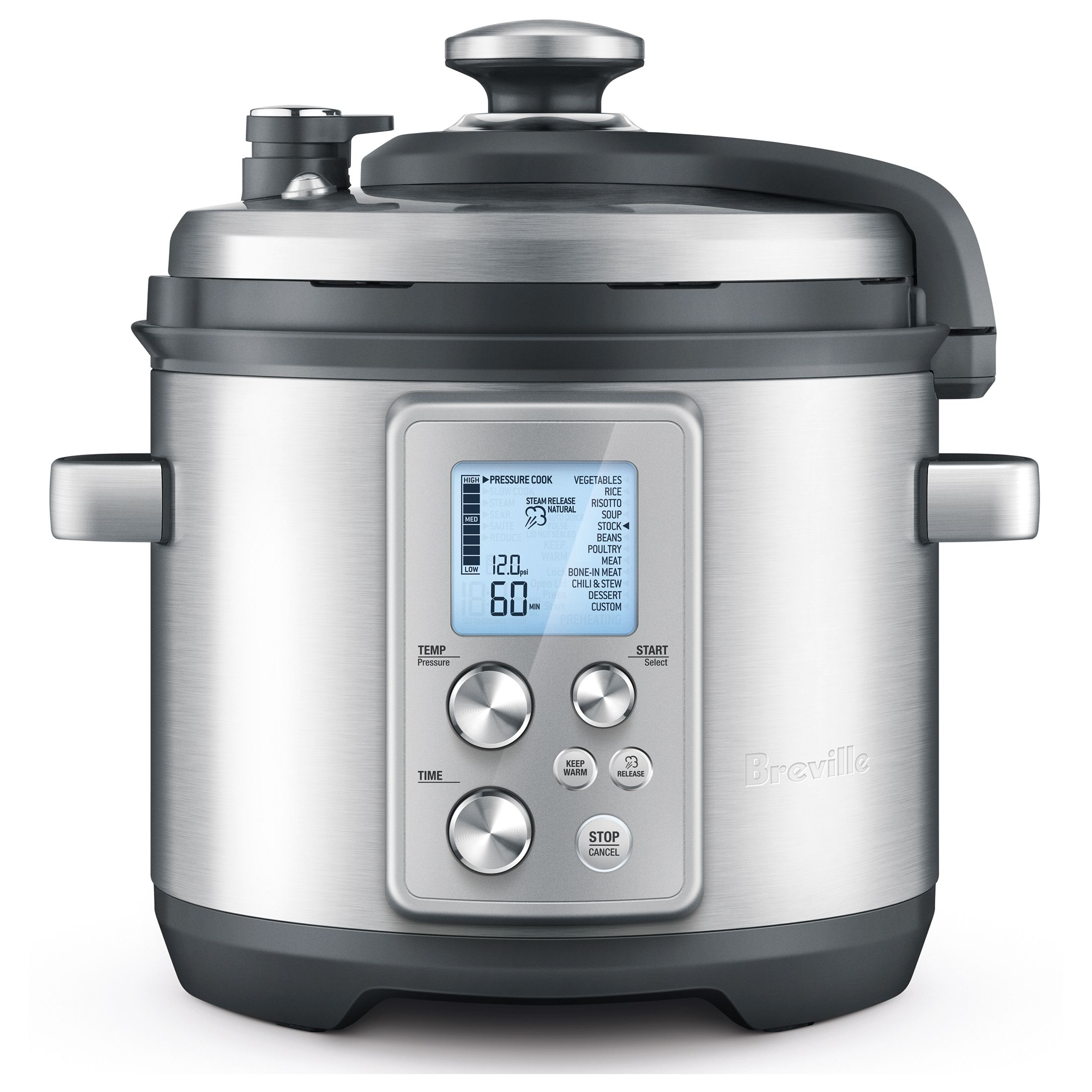 Breville Pro Stainless Steel 6 Quart Fast Slow Cooker Best Electric Pressure Cooker Breville Fast Slow Pro Fast And Slow