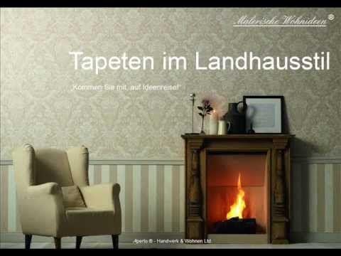 Bildergebnis für landhausstil modern tapete | Tapeten ...
