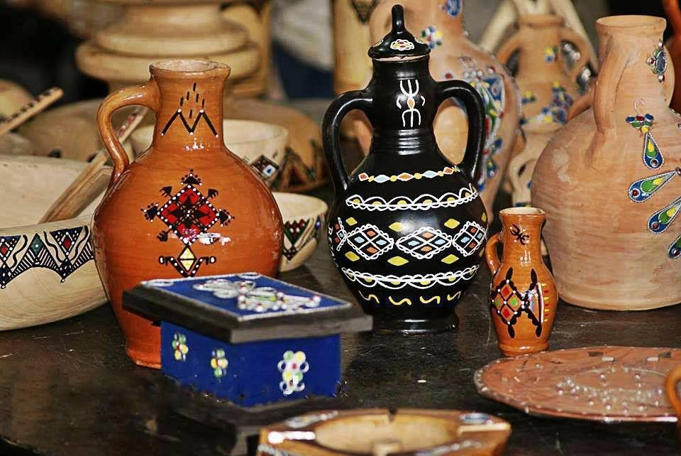 L\'artisanat Algérien   *L\'artisanat Algérien*   Peinture sur ...