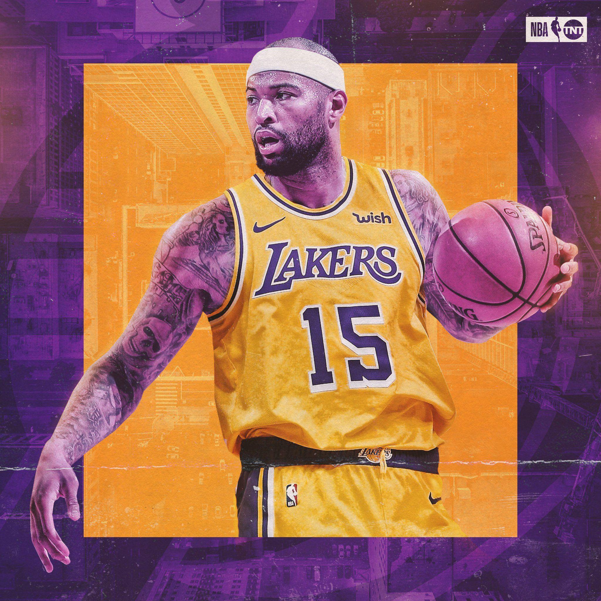 Demarcus Cousins Lakers Wallpaper Nba Wallpapers Damarcus Cousins
